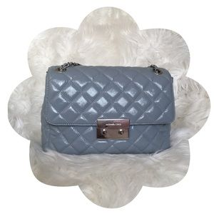 ✨💙 Michael Kors 💙✨   Quilted Sloan XL Dusty Blue